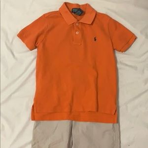 Polo and shorts set